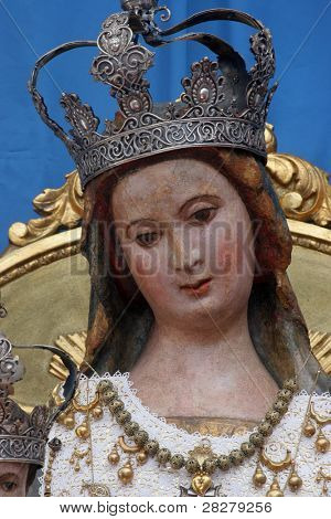 Blessed Virgin Mary, Our Lady of Pag, Croatia