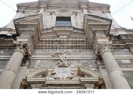 Jesuit church of St. Ignatius, Dubrovnik, Croatia