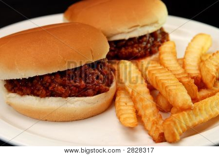 Sloppy Joes And Fries