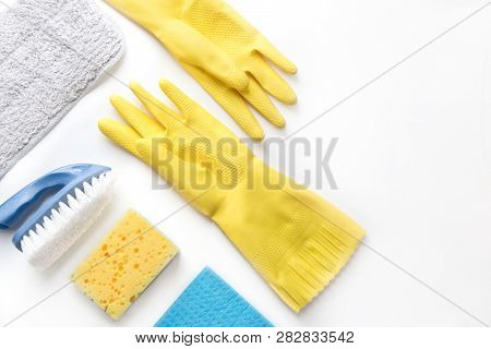 Cleaning Products Home Cleaning Concept