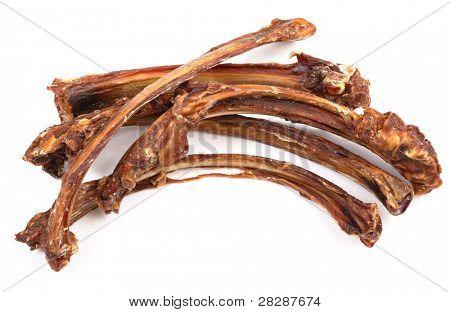 dog food, dry rib
