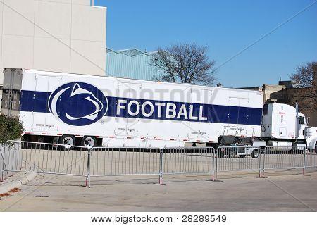 Equipment Truck for Penn State