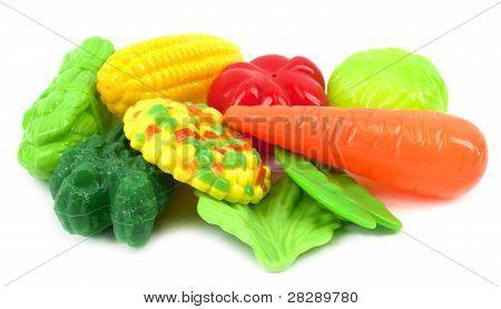 Legumes plásticos