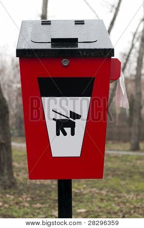 Trash For Dog Feces