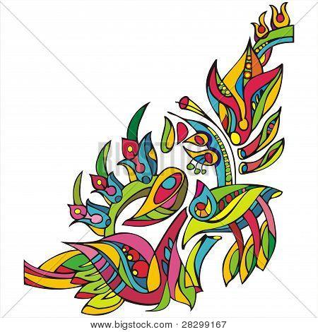 Decorative Floral Ornament