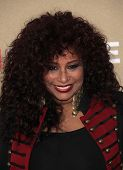 LOS ANGELES - DEC 11:  Chaka Khan arrives to the CNN Heroes: All-Star Tribute 2011  on December 11,