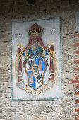 pic of armorial-bearings  - Close up of a coat of arms - JPG