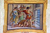 stock photo of beheaded  - The Beheading of Saint John the Baptist - JPG