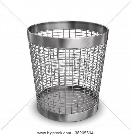Steel Wastebasket
