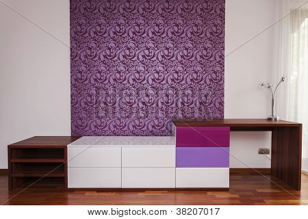 Modern Design On A Wall