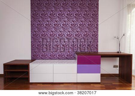 Modern Design On A Wall
