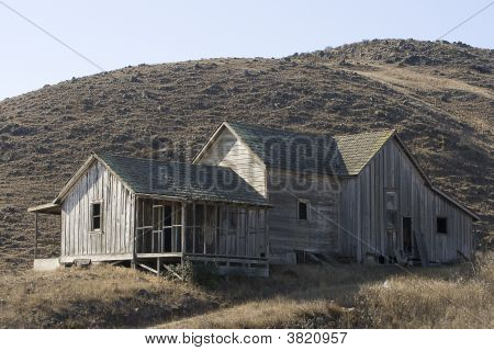 Abandoned House On A Hill