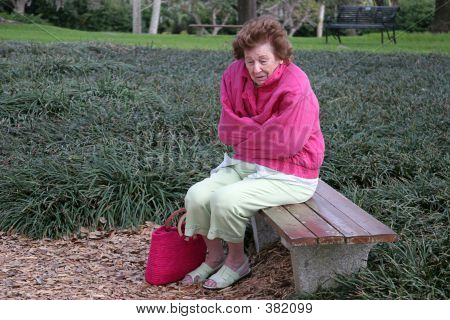 Senior Citizen Cold & Alone