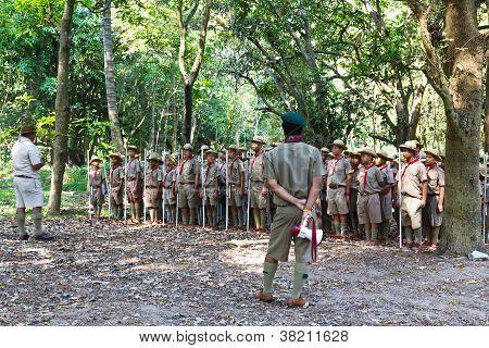 Boy Scouts Camp
