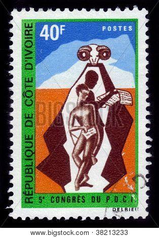 Cote D'ivoire - 5 Congress Of Democratic Party