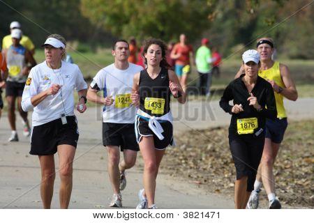 Corredores de maratona de Des Moines IMT 2008