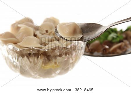 Do You Want Ravioli With Mushrooms
