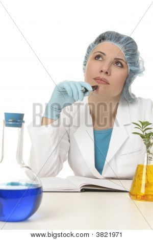 Scientist Thinking