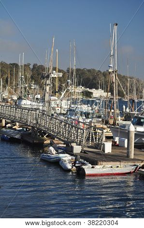 The Marina at Morro Bay, California