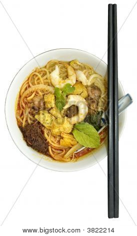 Penang Hawker Delight - Curry Mee