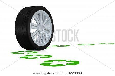 Conceito de transporte verde