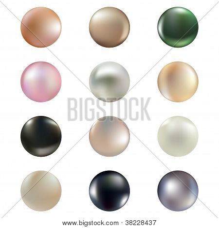 Set Of Pearls