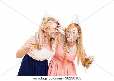 Drunken Women Celebrating
