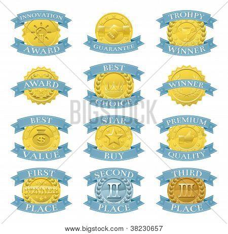 Award Medals Or Badges