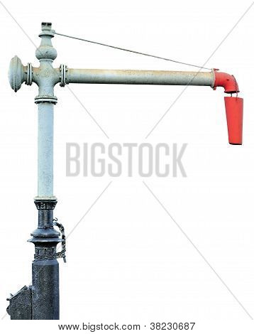 Railroad Station Water Crane Column Standpipe Spout For Steam Engine
