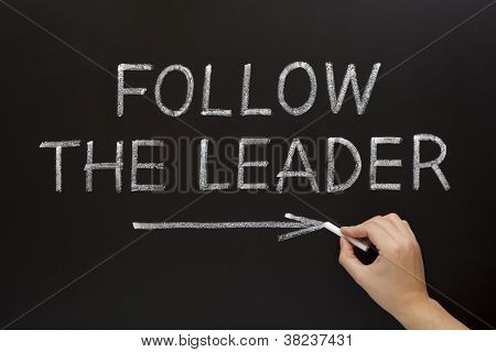 Follow The Leader On Blackboard