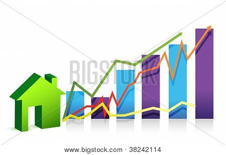 House Graph Illustration