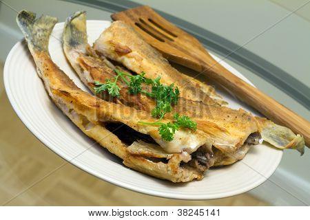 Fried Pike Perch