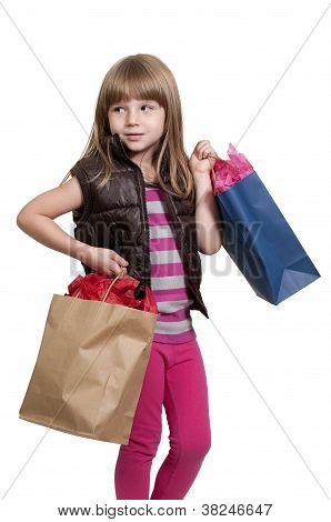 Girl Shopping Bags