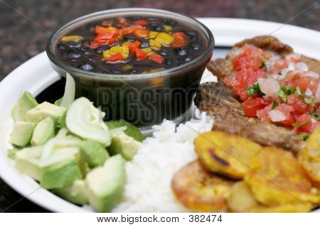 Cuban Meal