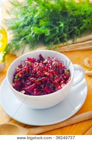 salad with beet