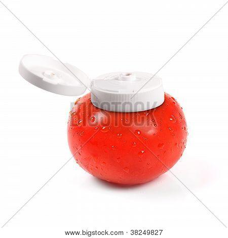 Natural Tomato Ketchup Container