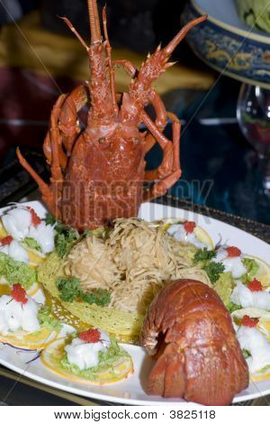 Chinese Meal-Lobster