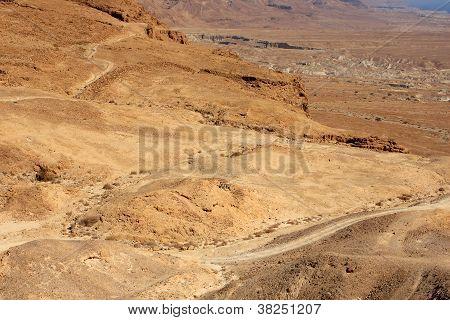 View from Masada, Israel