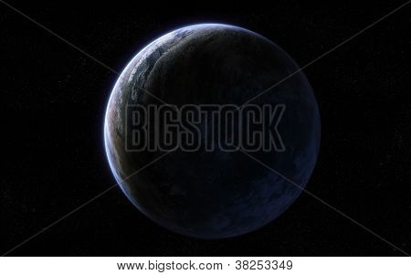 Extraterrestial planet