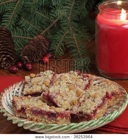Holiday Cranberry Bars