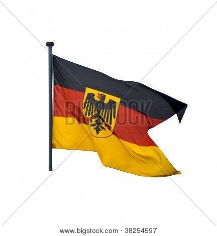 Naval Flag Of Germany