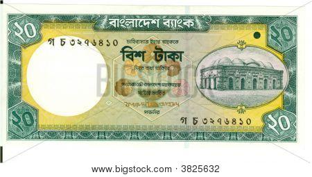 20 Taka Bill Of Bangladesh, 2000