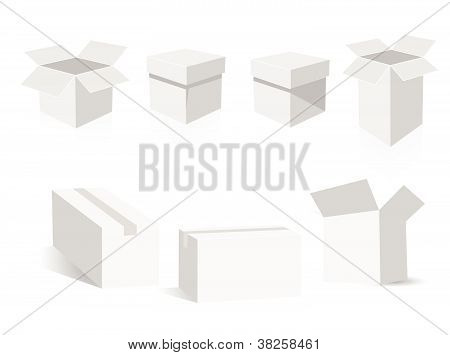 vector boxes