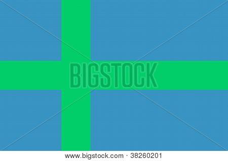 Votic People Flag