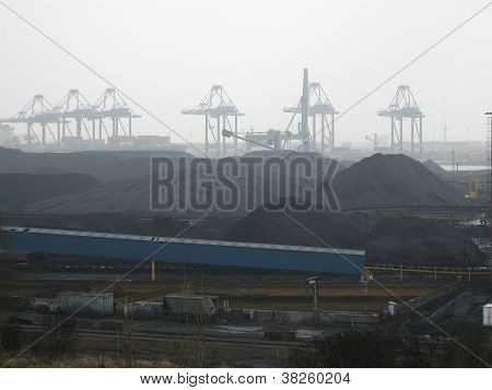 industry at a port