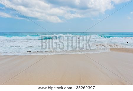 Beach And Wave