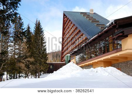 Modern Luxury Hotel At Ski Resort, High Tatras, Slovakia