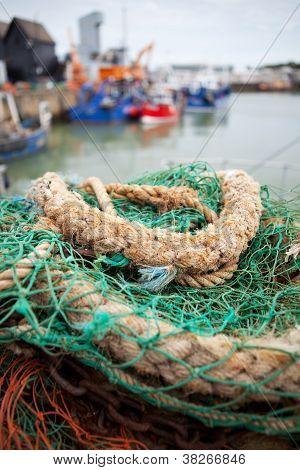 Whitstable Harbour Fishing Trawler
