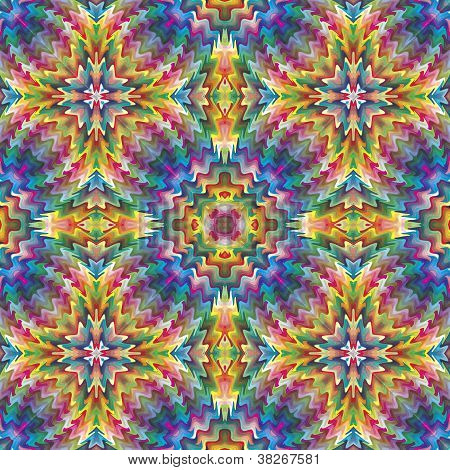 Native American vector pattern