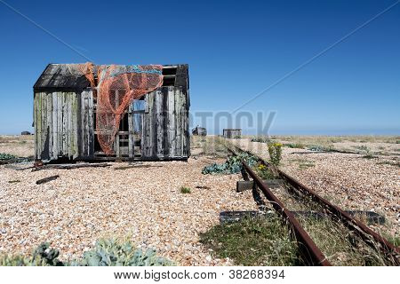 Fishing Hut Wreck Ruin Dungeness Coast